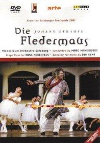 Johann Strauss - Die Fledermaus / Marc Minkowski - Delunsch, Hartelius, Klink, Bär, Duesing, Trissenaar - Salzburg Festival 2001