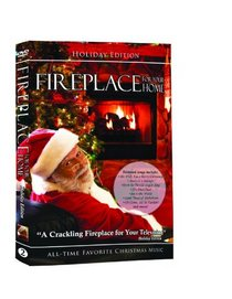 Fireplace DVD for your home - Holiday Edition Volume 2