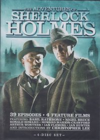 The Adventures of Sherlock Holmes: Complete Series (4 DVD Set)