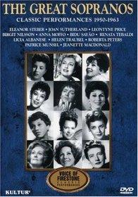 Voices of Firestone: The Great Sopranos / Steber, Price, Tebaldi, Sayao, Nilsson, Moffo, Albanese, Peters, Munsel, Traubel, Sutherland