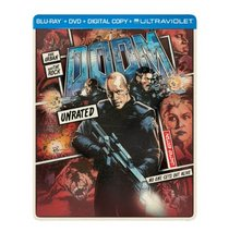 Doom (Steelbook Blu-ray + DVD + Digital Copy + UltraViolet)