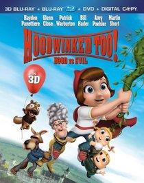 Hoodwinked Too! Hood vs. Evil [Four-Disc Combo: Blu-ray 3D/Blu-ray/DVD/Digital Copy]