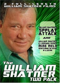 William Shatner Two-Pack: Spplat Attack / Mind Meld