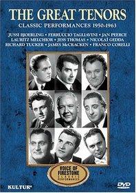 Voices of Firestone: The Great Tenors / Bjorling, Corelli, Tagliavini, Tucker, Peerce, Gedda, McCracken, Thomas