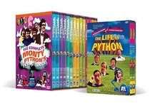 The Complete Monty Python's Flying Circus Megaset with Bonus Life of Python