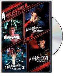 A Nightmare on Elm Street 1-4: 4 Film Favorites