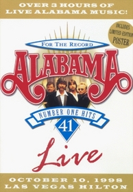 Alabama - For the Record: 41 Number One Hits Live