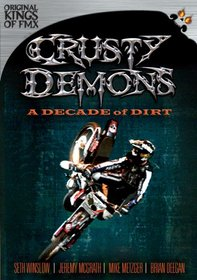 Crusty Demons A Decade of Dirt DVD with Ronnie 'Kung Fu
