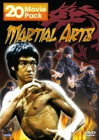 Martial Arts 20 Movie Pack