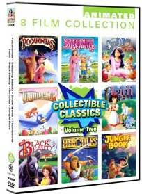 Animated Classics Collection Volume 2- 8 Pack: Pocahontas/ Sleeping Beauty/ Snow White/ Thumbelina/ Heidi/ Black Beauty/ Hercules/ Jungle Book