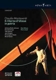 Monteverdi - Il Ritorno d'Ulisse in Patria / Rolfe-Johnson, Araya, Spence, Huijpen, Gillett, Asawa, Wilson, Amsterdam Opera
