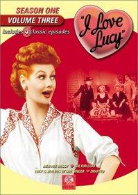 I Love Lucy - Season One (Vol. 3)