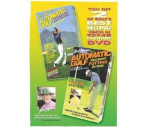 Bob Mann's Automatic Golf: 2 DVD's in One: Let's Get Started & Who-Dinni Putting Method