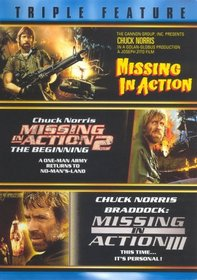Triple Feature: Missing in Action / Missing in Action 2: The Beginning / Braddock: Missing in Action III