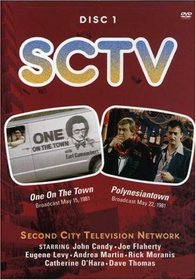SCTV - Disc 1 - One on the Town & Polynesiantown