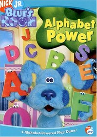 Blue's Clues - Blue's Room - Alphabet Power
