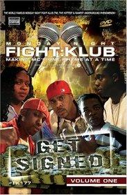 Monday Night Fight Klub, Vol. 1