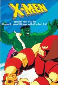 X-Men - Sanctuary Parts 1 & 2 / Weapon X, Lies and Videotape / Proteus Parts 1 & 2