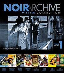 Noir Archive Volume 1: 1944-1954 (9 Movie Collection) [Blu-ray]