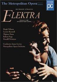 Richard Strauss - Elektra / James Levine, Birgit Nilsson, Leonie Rysanek, MET