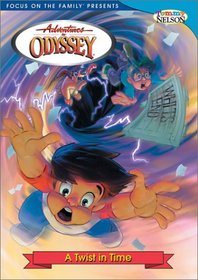 Adventures In Odyssey: ATwist In Time with 60 minute bonus audio adventure