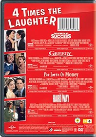The Secret of My Success / Greedy / For Love or Money / The Hard Way 4-Movie Laugh Pack