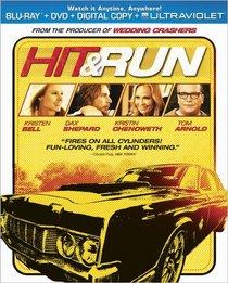 Hit & Run  (Two-Disc Combo Pack: Blu-ray + DVD + Digital Copy + UltraViolet)