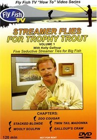 Streamer Flies For Trophy Trout with Kelly Galloup