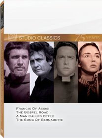 Classic Quad Set 5 (Francis of Assisi / The Gospel Road / A Man Called Peter / The Song of Bernadette)