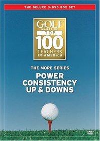 Golf Magazine Top 100 Teachers: The More Series