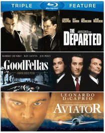 Departed / Goodfellas / Aviator [Blu-ray]