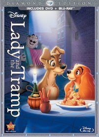 Lady and the Tramp (Diamond Edition Two-Disc Blu-ray/DVD Combo in DVD Packaging)
