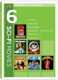 MGM Movie Collection - 6 Sci-Fi Movies (Hackers / Wargames / Solarbabies / Wargames - The Dead Code / Spacecamp / Alien from L.A.)