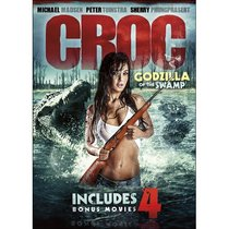 5-Movie Maneater Collection: Croc: Godzilla of the Swamp / Grizzly Rage / Maneater / Dire Wolf / Chupacabra vs The Alamo