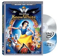Snow White and the Seven Dwarfs (DVD/Two-Disc Blu-ray + BD Live w/DVD packaging)