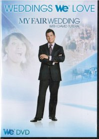 My Fair Wedding with David Tutera - Weddings We Love - WE Network - Medieval Bride, Springtime and Flowers Bride, Poker Bride, Cowboy Bride and Greek Goddess Bride