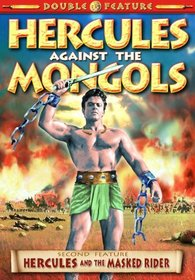 Hercules Double Feature: Hercules Against The Mongols (1964) / Hercules & The Masked Rider (1960)