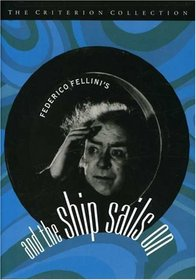 And the Ship sails On - Criterion Collection