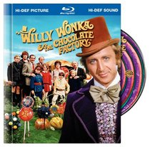 Willy Wonka & the Chocolate Factory (Blu-ray Book)