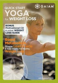 Quick Start Yoga for Weight Loss (DVD plus audio CD)