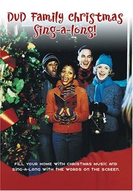 DVD Family Christmas Sing-A-Long