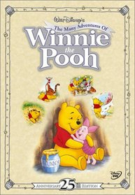 The Many Adventures of Winnie the Pooh (25th Anniversary Edition)