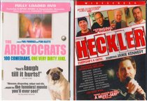 The Aristocrats : Unrated Edition - Extended Version of the Joke , Heckler : Stand Up Comedy Legends 2 Pack