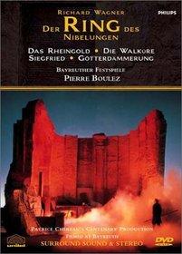 Wagner - Der Ring des Nibelungen / Patrice Chéreau - Pierre Boulez, Bayreuth Festival (Complete Ring Cycle)