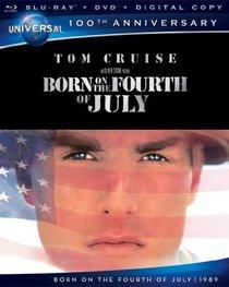 Born on the Fourth of July [Blu-ray + DVD + Digital Copy] (Universal's 100th Anniversary)