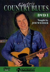 DVD-Electric Country Blues Vol 1