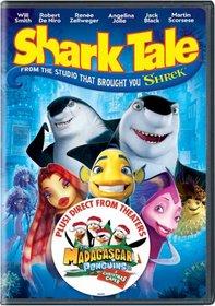 "Shark Tale (+ Bonus DVD of Madagascar Penguins ""A Christmas Caper"")"