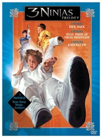 3 Ninjas Trilogy (3 Ninjas Kick Back / High Noon at Mega Mountain / Knuckle Up)