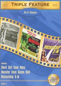 Sci-Fi Classics Triple Feature, Vol. 2 (Devil Girl from Mars / Monster from Green Hell / Rocketship X-M)