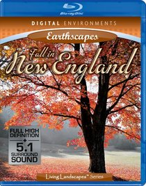 Living Landscapes: Earthscapes - Fall in New England [Blu-ray]